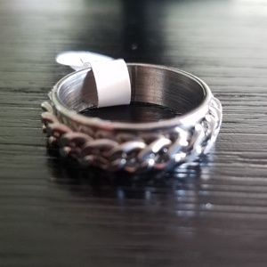 Other - Men's Size 11 Chain Silver Ring